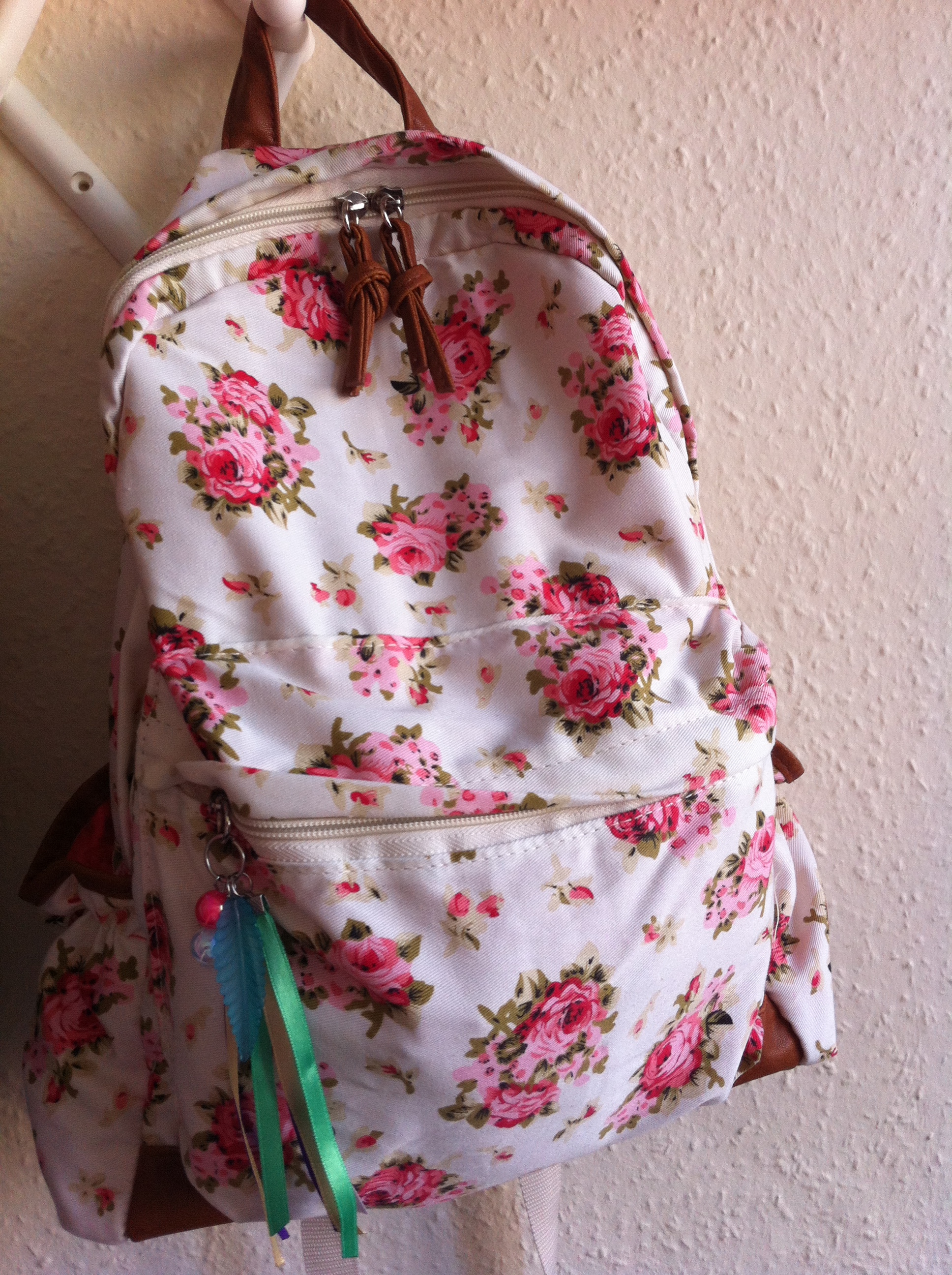 Cute bags for school ebay - Primark Floral Backpack Vintage Backpacks